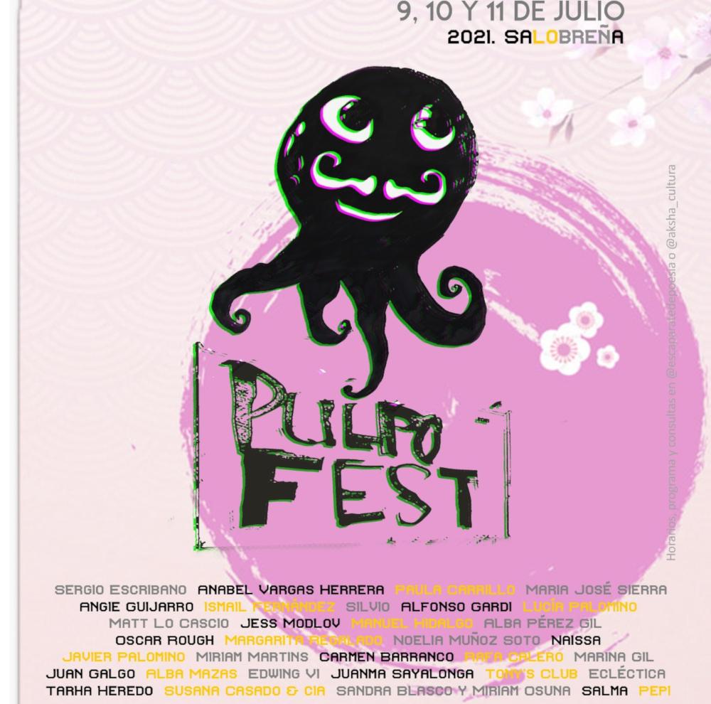 El I Festival Pulpo Fest llenará Salobreña de poesía escénica y contemporánea del 9 al 11 de julio