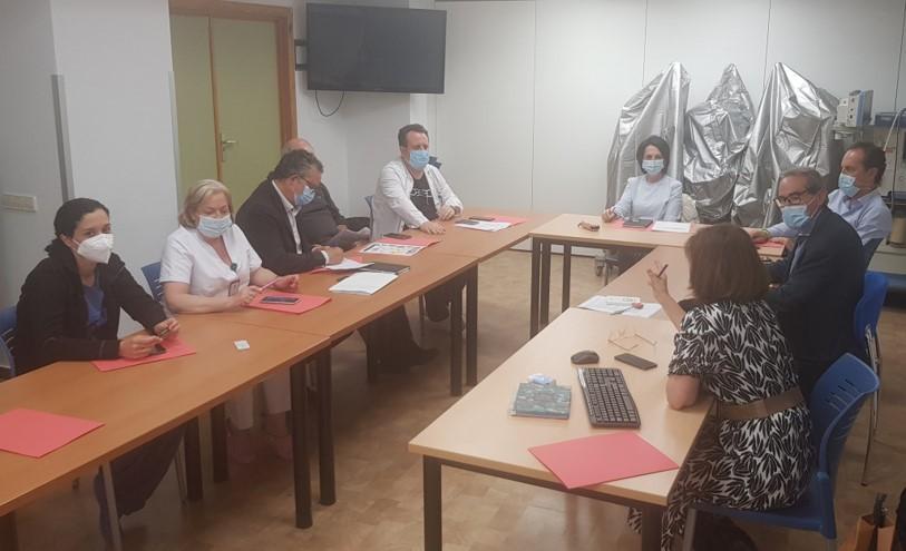 El Área Sanitaria Sur de Granada inicia el Plan de Comunicación de la Comisión de Humanización