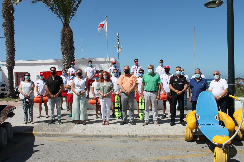 Salobreña intensifica el dispositivo de socorrismo y salvamento en las playas