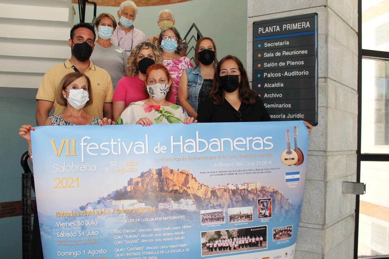 El Festival Habaneras de Salobreña llega a su 7ª edición con Nicaragua como país invitado