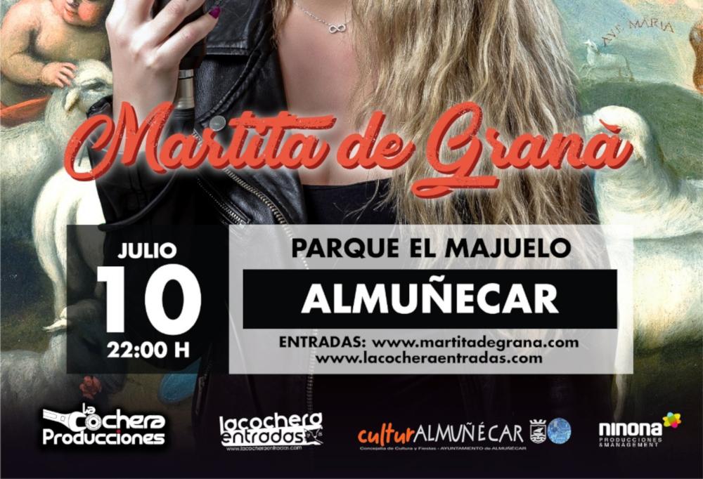 Martita de Graná y la bailaora Christina Matías Pagés cabezas de cartel de la agenda cultural del fin de semana
