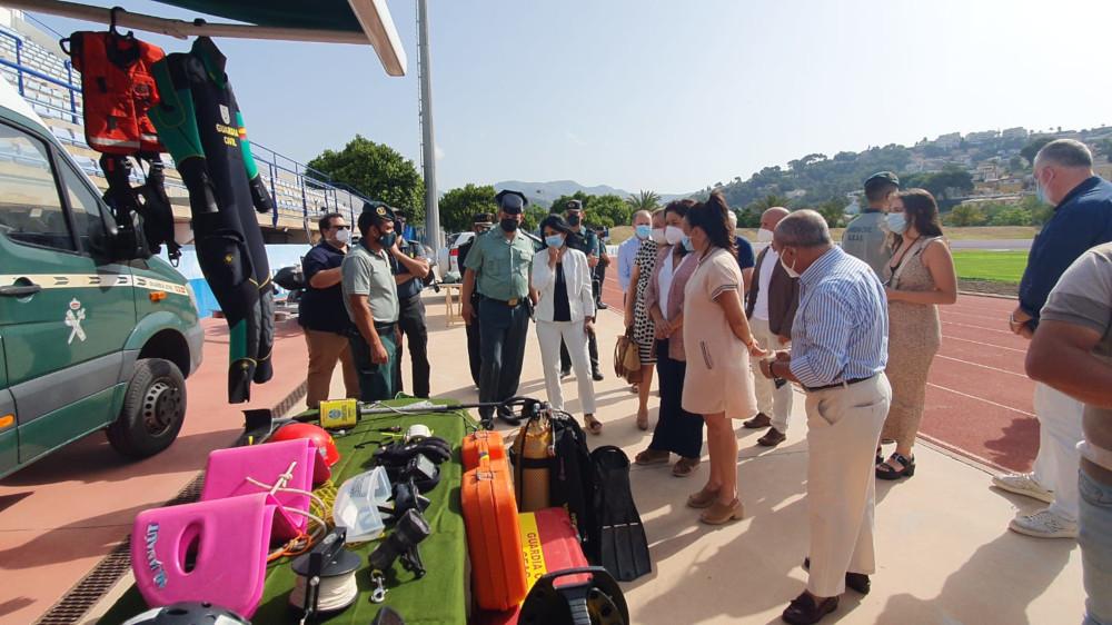 'Operación Verano', refuerzo de las fuerzas de seguridad del Estado en la Costa para la época estival