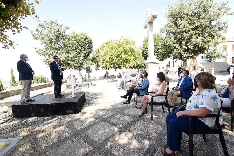 Diputación recibe el premio 'We love Granada' de la Federación de Empresas de Hostelería y Turismo