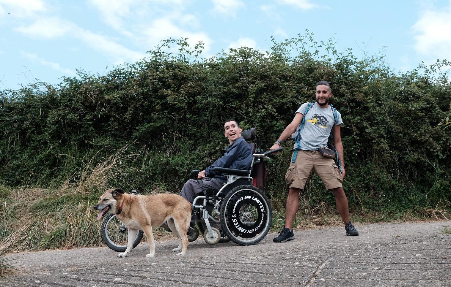 Los hermanos granadinos de 'Camino Sin Límites' ponen a prueba el Camino Primitivo de Santiago