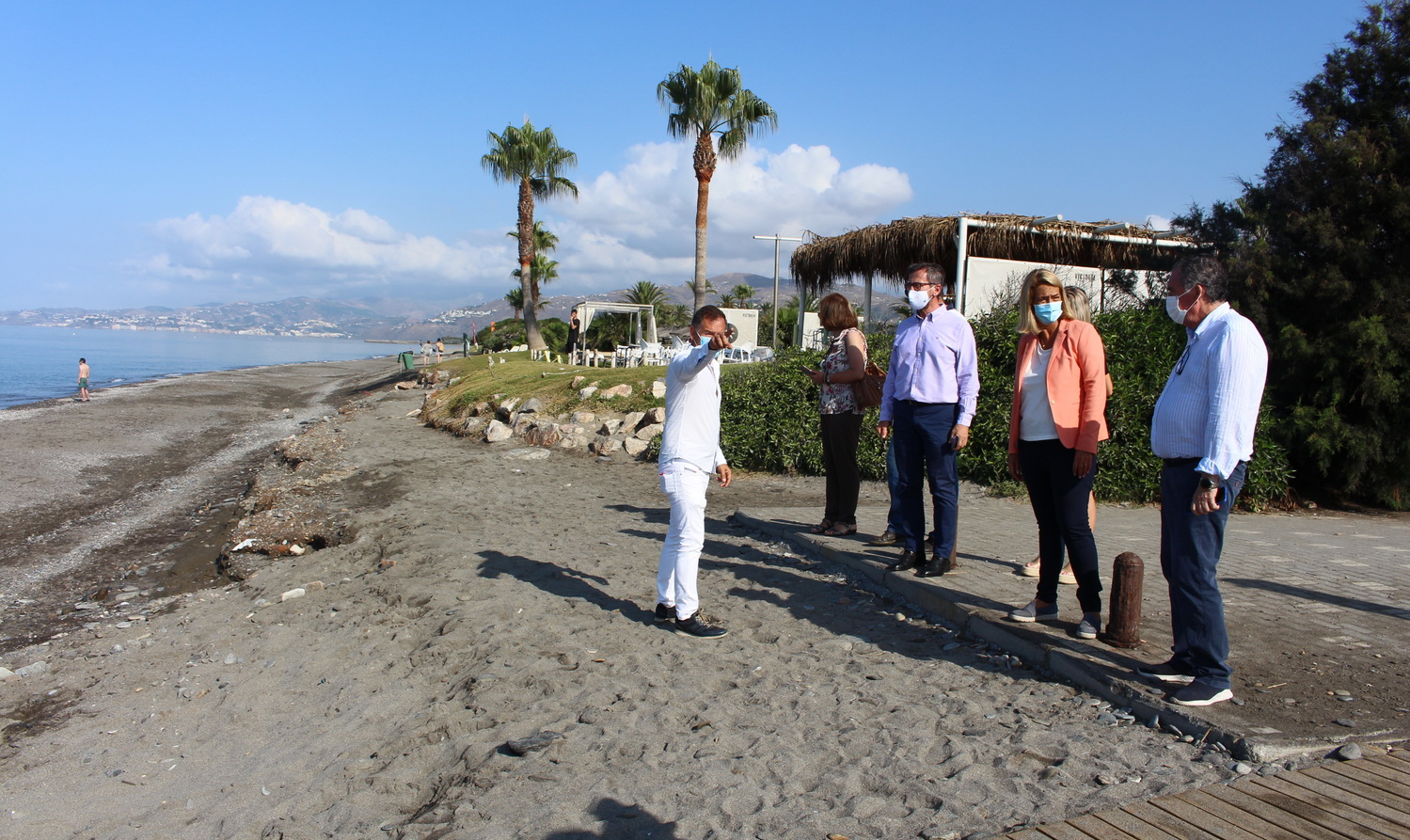 El Gobierno de Motril vuelve a elevar su protesta ante Costas tras los efectos del último temporal en Playa Granada