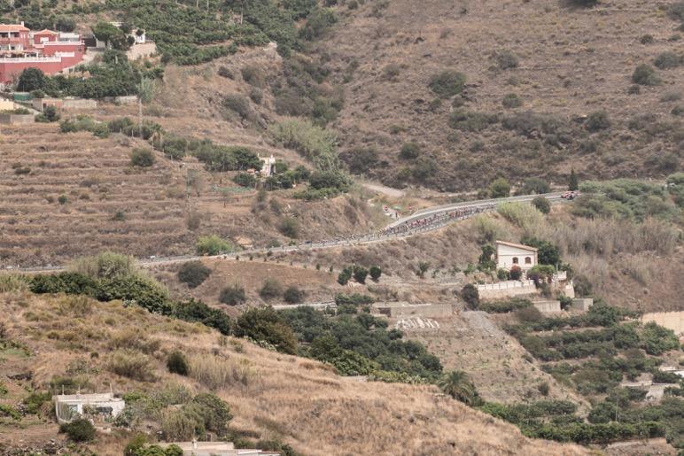 El paso de los ciclistas de la Vuelta a España por la Costa Tropical, nos ha dejado momentos muy emocionantes