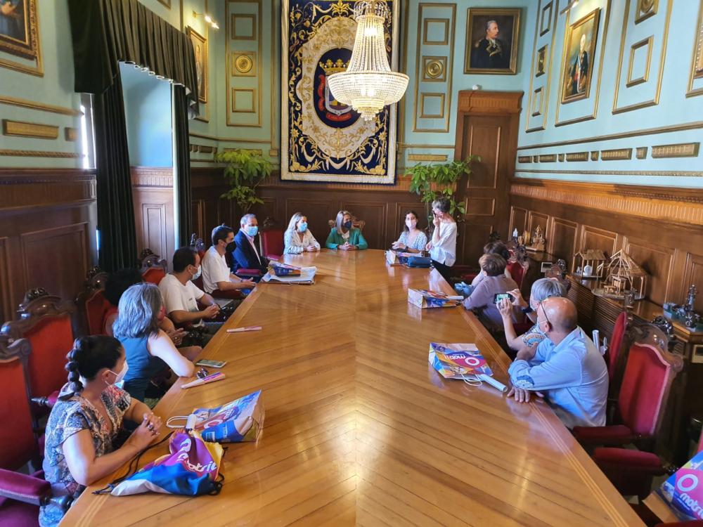 Motril recibe a los participantes de una ambiciosa experiencia internacional dentro del proyecto Erasmus+