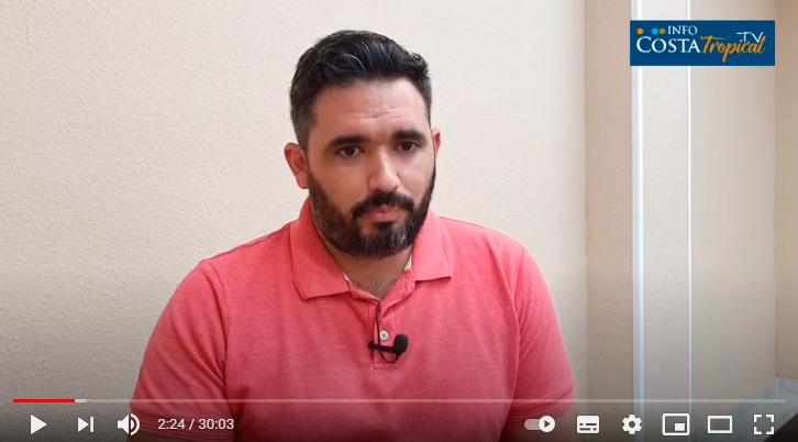 Abrir el nuevo Mercado de Almuñécar es el reto de Fco. Javier García, concejal de Urbanismo.