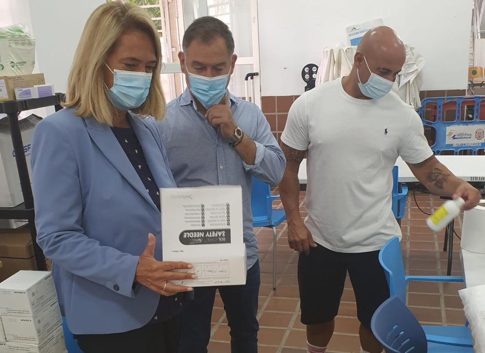 Concluyen las vacunaciones masivas del Pabellón de Motril con más de 68.000 dosis suministradas