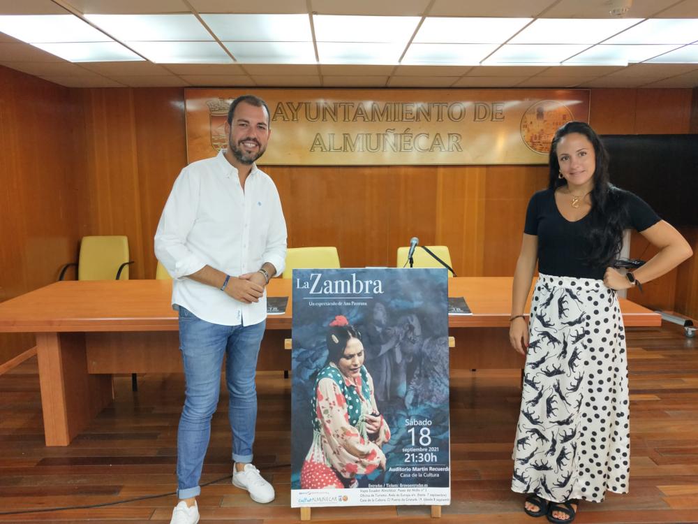 """El espectáculo de flamenco """"La Zambra"""" de Ana Pastrana llega este sábado a Almuñécar"""