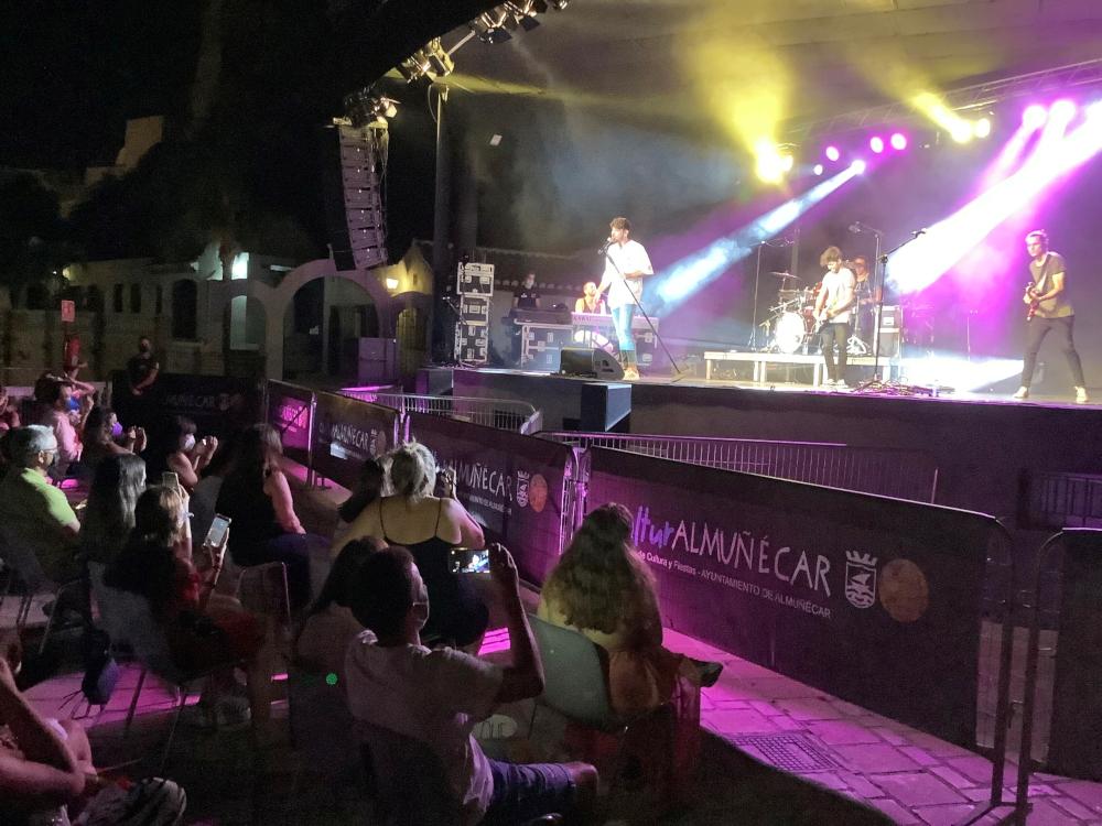 Más de 50.000 personas asistieron a los 150 eventos culturales que ha celebrado Almuñécar este verano
