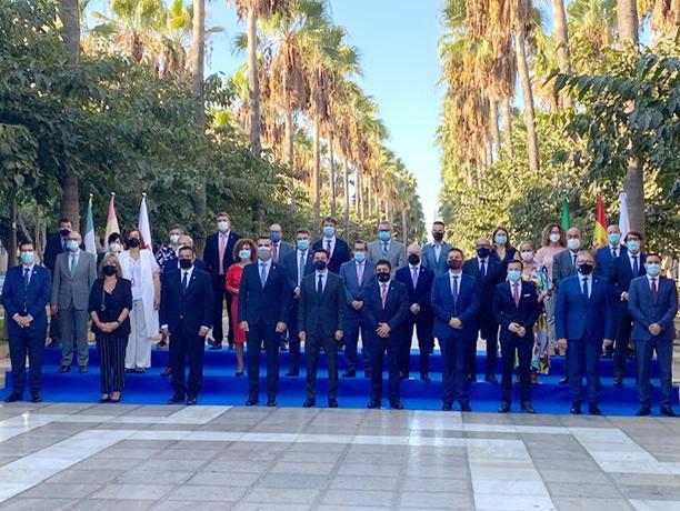 Entrena asiste a la reunión de la Comisión de la Federación Española de Municipios y Provincias.
