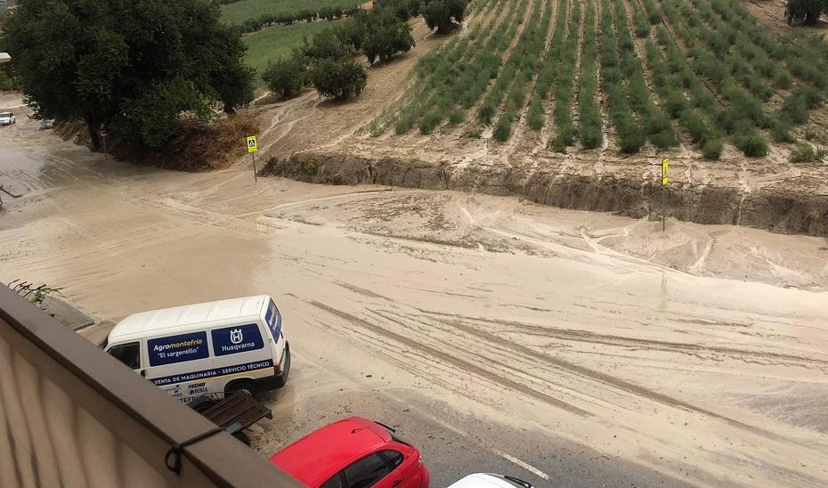 Atendidas más de medio centenar de incidencias por la lluvia en varios municipios de Granada