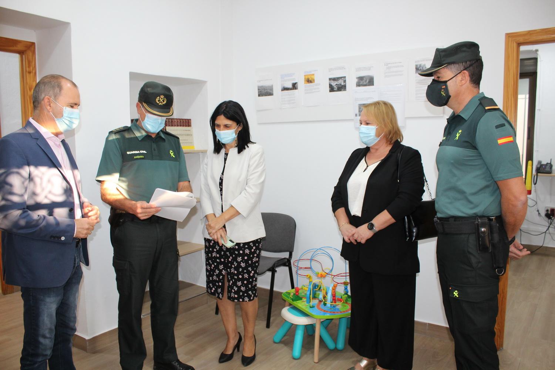 El Cuartel de Vélez Benaudalla reforma sus instalaciones para mejorar la atención a las víctimas de violencia de género
