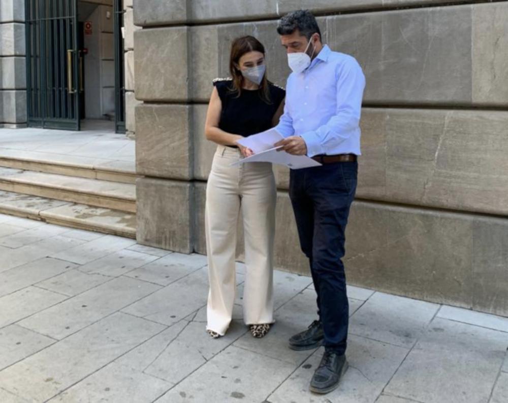 El PSOE presenta en la Fiscalía el pago de la multa de García Chamorro por si fuera constitutivo de delito