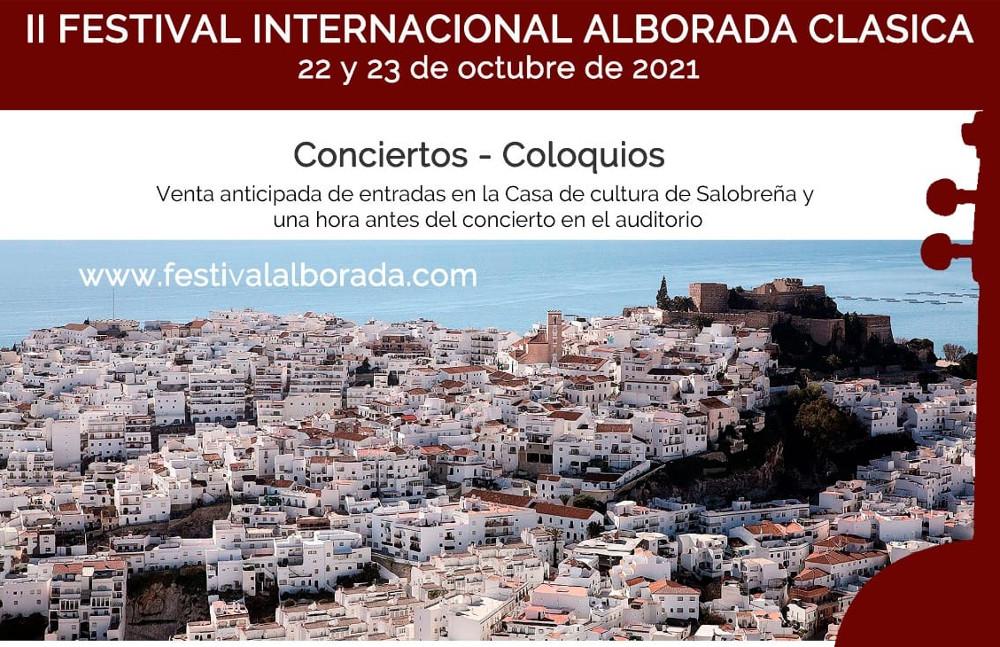 El II Festival 'Alborada Clásica' se celebra en Salobreña los próximos 22 y 23 de octubre