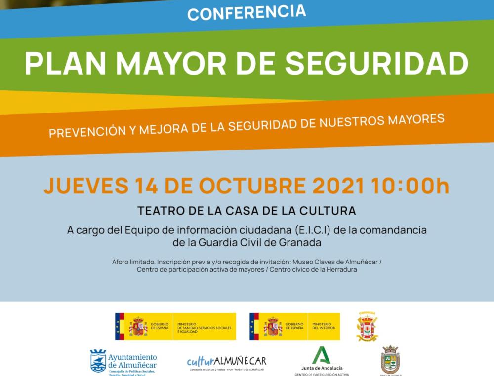 La Guardia Civil impartirá una conferencia en Almuñécar para mejorar la seguridad entre los mayores