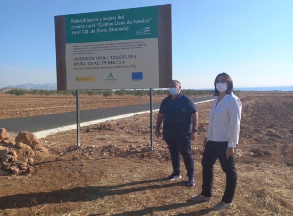 La Junta invierte más de 4,3 millones en la mejora de caminos rurales de 60 municipios de la provincia